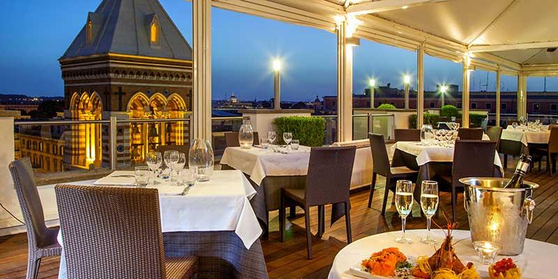 Convenzione RISTORANTE LA TERRAZZA DE LA GRIFFE HOTEL ROMA