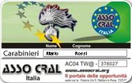 Tessera Carabinieri - Asso Cral