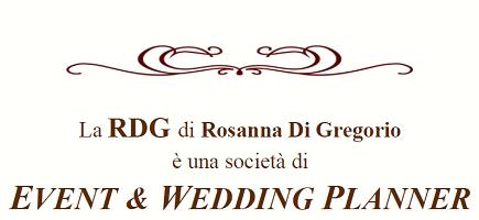 RDG di Rosanna Di Gregorio - EVENT & WEDDING PLANNER