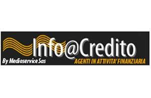 Info@Credito by Medioservice Sas<div>Agenzia in Attività Finanziaria - OAM A.2501</div>