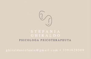 DR.SSA STEFANIA GHIRALDO<div>�Psicologa Psicoterapeuta</div>