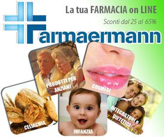 Farmaermann - Farmacia Salus - Oltre 1.500 prodotti di marca (escl. farmaci)