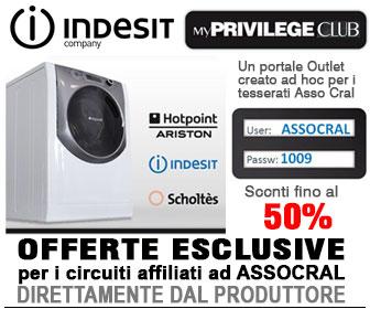 Indesit Company - Sconti speciali su tutti i piccoli e grandi elettromestici!