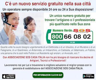 Associazione SOS Casa Italia per ogni esigenza!