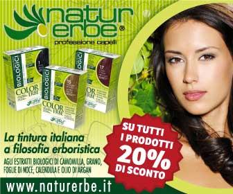 NATUR ERBE� � Prodotti cosmetici tricologici erboristici