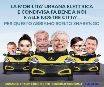 Il primo e unico servizio di car sharing elettrico, per una mobilità sostenibile