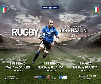 """FEDERAZIONE ITALIANA RUGBY  Stadio Olimpico – Trofeo """"6 Nazioni"""""""