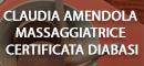 CLAUDIA AMENDOLA - MASSAGGIATRICE CERTIFICATA DIABASI