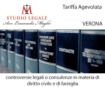 Tel: 0452226492 - Email: avv.emanuelamaglio@gmail.com
