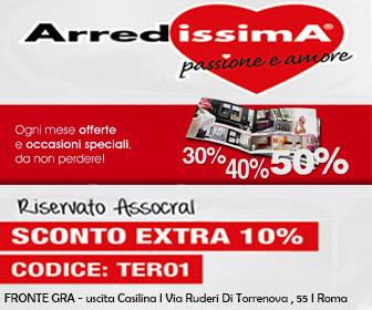 Tel: 3381862559 - Email: info.roma@arredissima.com