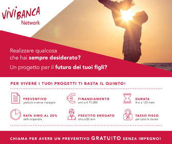 Tel: 3338655855 - Email: lorenzo.vandelli@agente.vivibanca.it