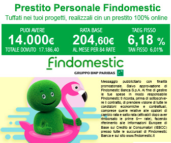 Findomestic Prestiti 100% Online