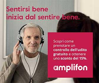 Amplifon - Vieni a trovarci nei  500 Centri acustici in tutta Italia