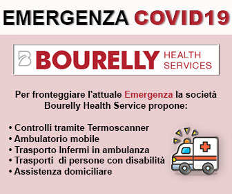 Bourelly Health Service per fronteggiare l' Emergenza Covid19