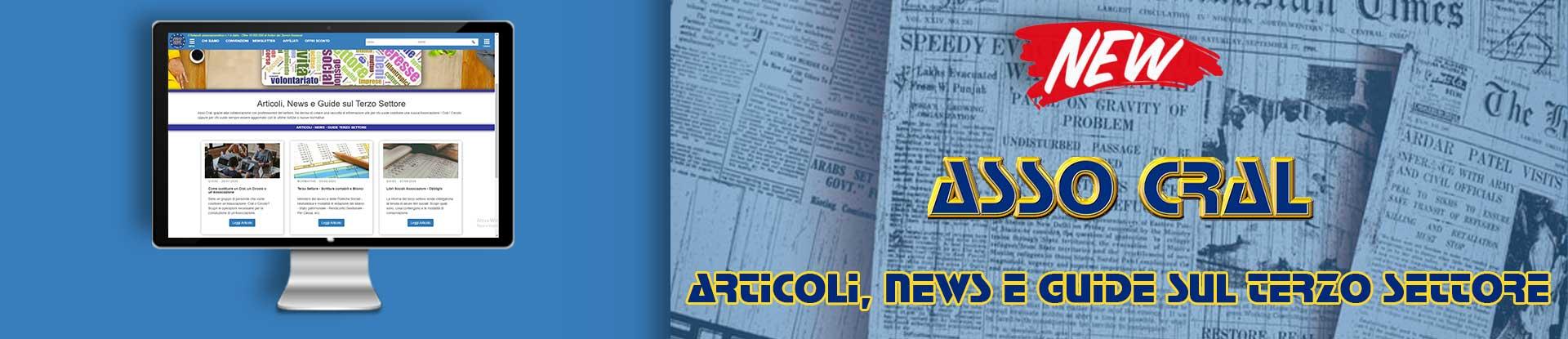 Articoli, news e guide sul terzo settore