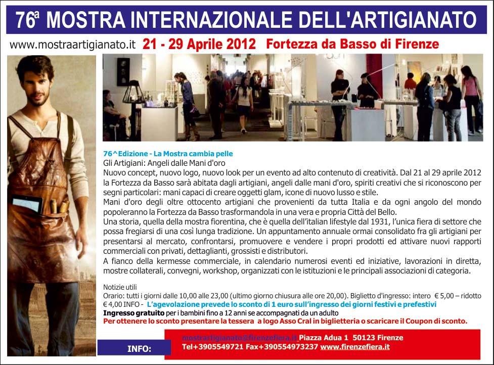 MOSTRA INTERNAZIONALE DELL'ARTIGIANATO