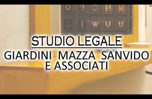STUDIO LEGALE GIARDINI MAZZA SANVIDO E ASSOCIATI