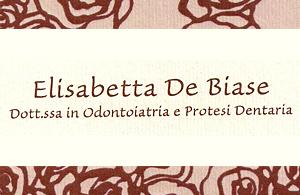 ST. DENTISTICO DOTT.SSA DE BIASE ELISABETTA
