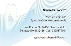 STUDIO DENTISTICO DR. ROBERTO NOVARA