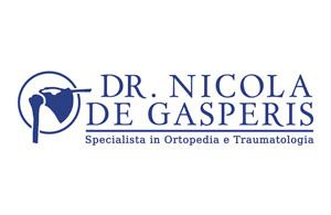 Dr. Nicola de Gasperis<br>Specialista in Ortopedia e Traumatologia
