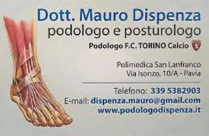PODOLOGO DOTT DISPENZA MAURO