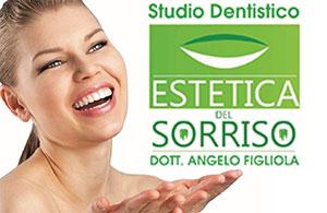 """STUDIO DENTISTICO LOW COST """"ESTETICA DEL SORRISO""""<br>Dott. Angelo Figliola"""