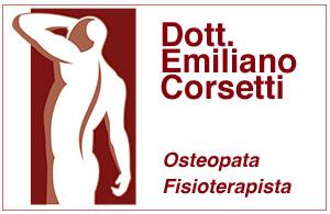 Dott. Emiliano Corsetti<div>Osteopata D.O.m.ROI</div><div>Fisioterapista</div>